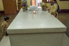 Grab von Mutter Teresa im Motherhouse Kalkutta