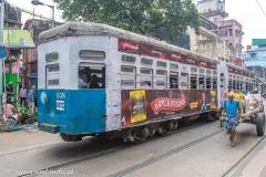Menschenrikscha, Kalkutta, Indien