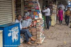 Büchermarkt in Kalkutta