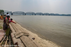 Aussicht auf den Hugli, nicht Ganges