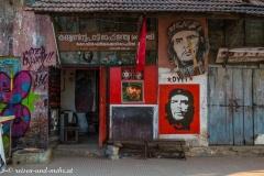 Die kommunistische Partei ist in Südindien sehr stark