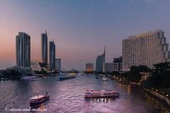 Abendstimmung am Chao Phraya