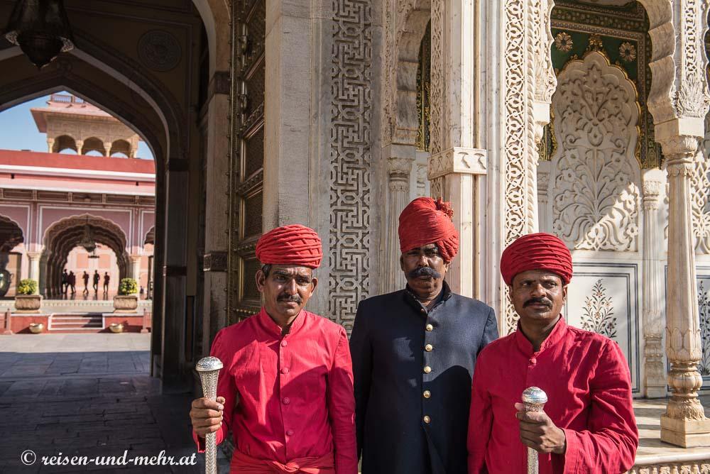 Palastwache, City Palace Jaipur