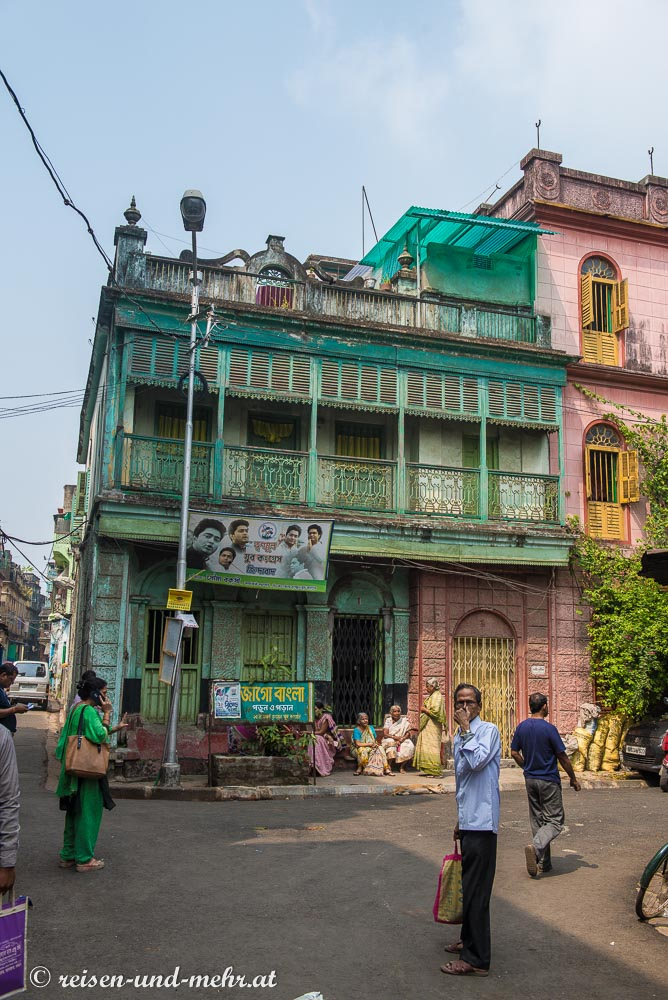 Gebäude im Kolonialstil, Kalkutta