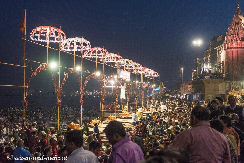 Ganga Aartii in Varanasi