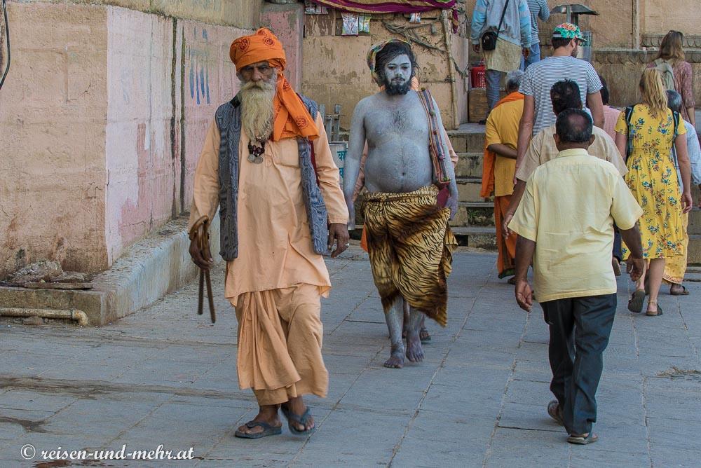 Sadhus in Varanasi