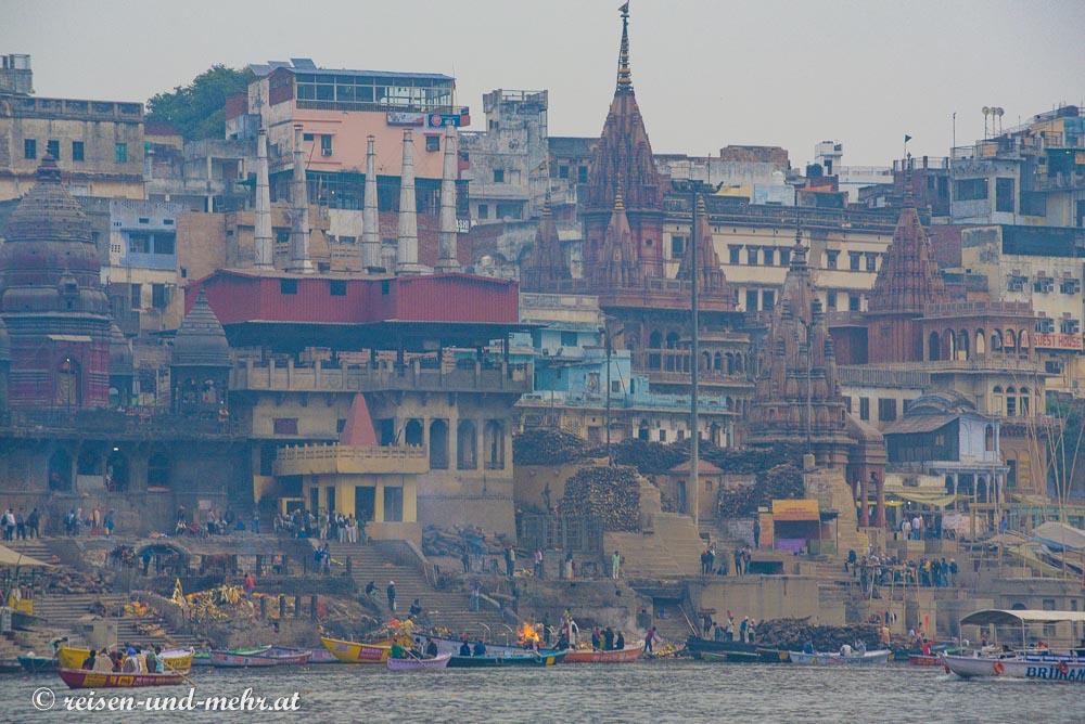 Verbrennungstelle Manikarnika Ghat