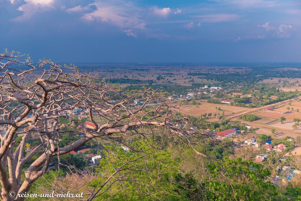 Aussicht vom Phnom Sampeau, Battambang, Kambodscha