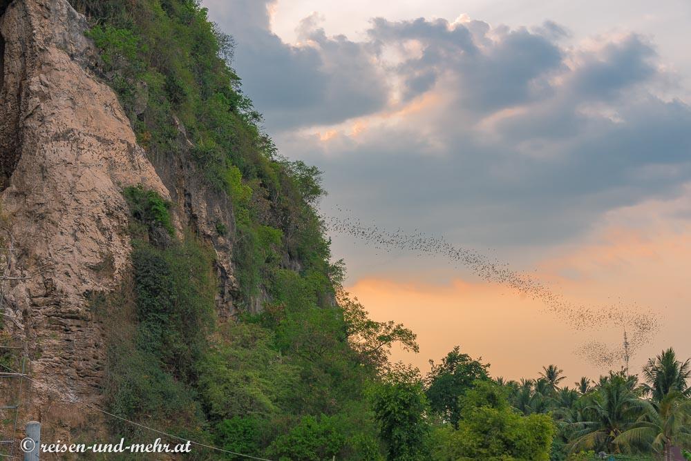 Batcave , Battambang, Kambodscha