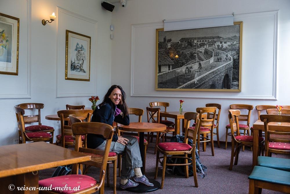 Café auf dem Monserrate