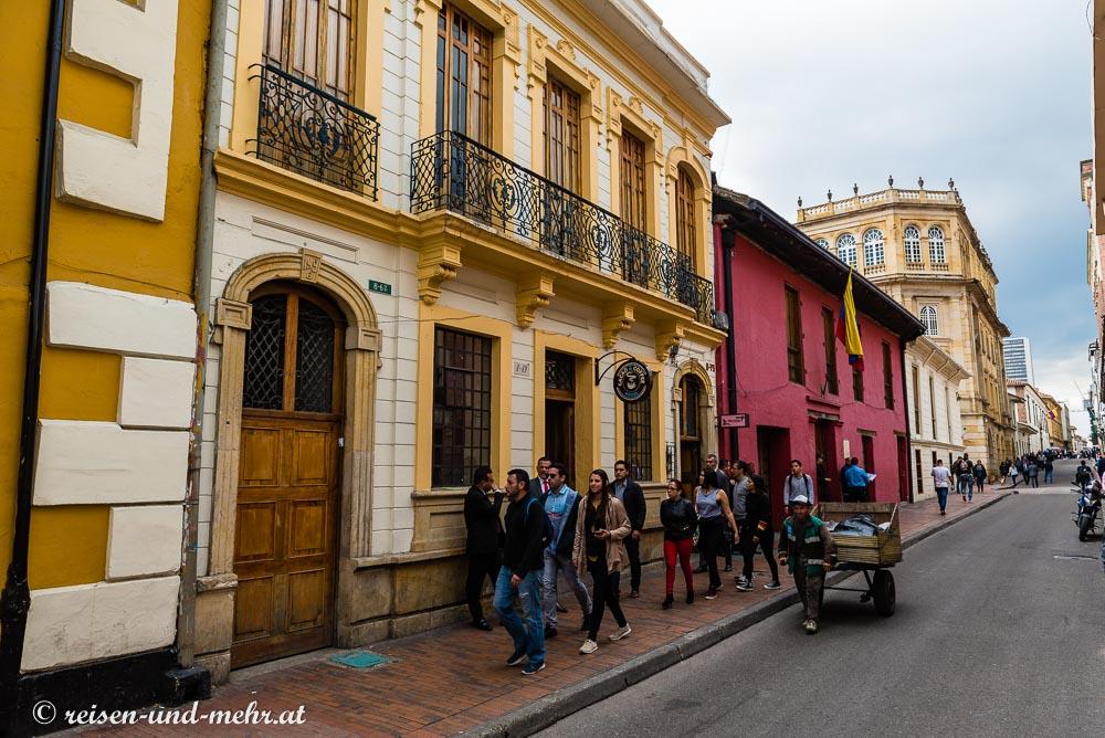 Altstadt in Bogota