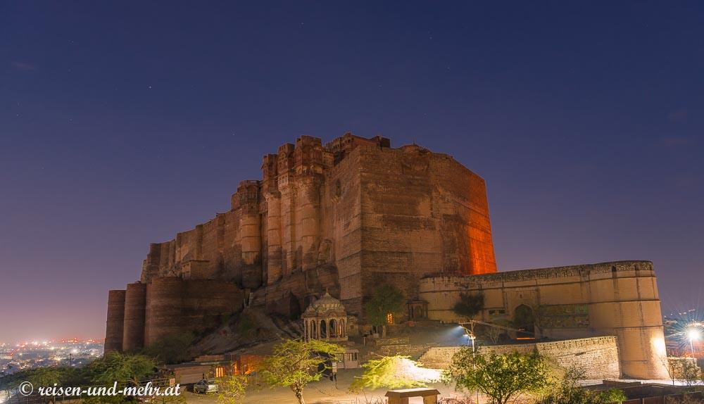 Meherangarh Fort am frühen Morgen, Jodhpur
