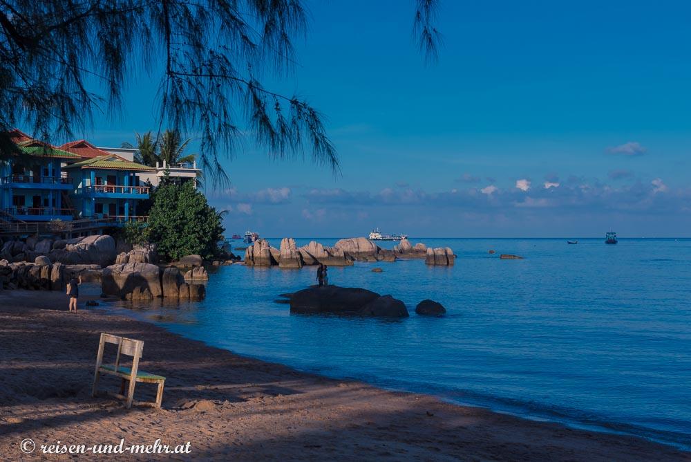 Morgenstimmung am Sairee Beach, Koh Tao, Thailand