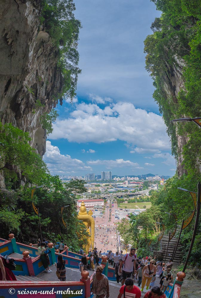 Aufstieg zu den Batucaves, Kuala Lumpur