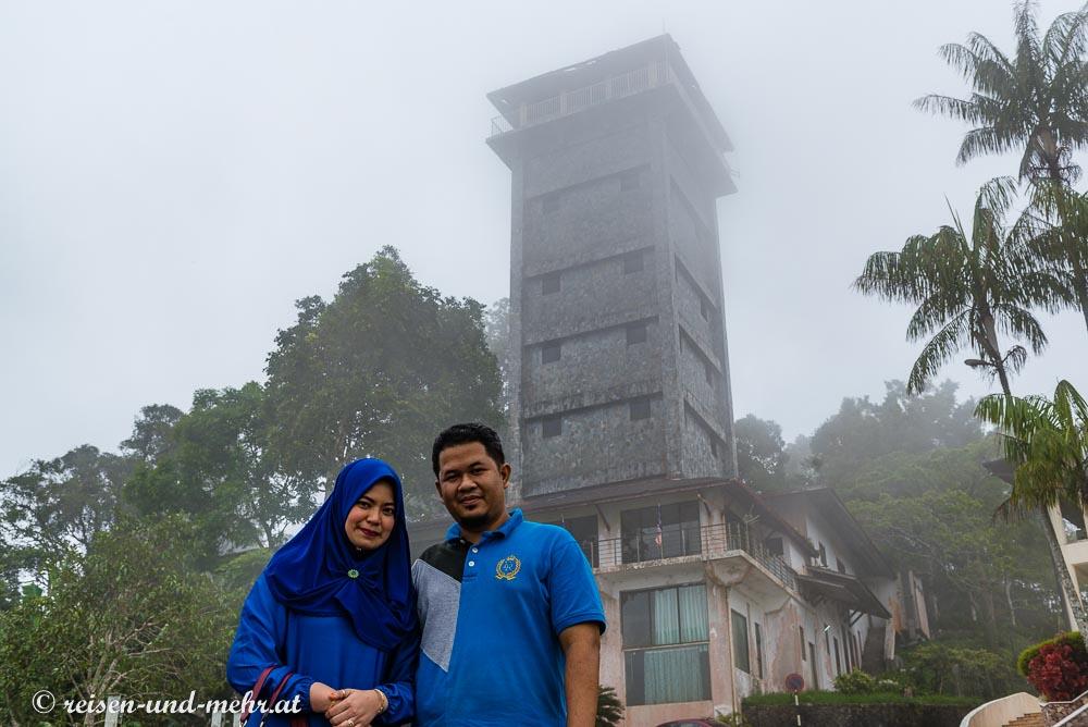 Aussichtsturm auf dem Gunung Raya