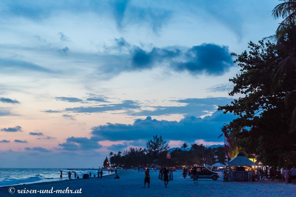 Cenang Beach Abendstimmung, Langkawi