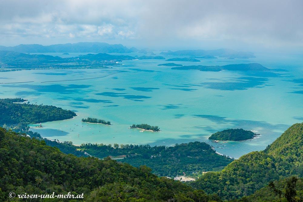 Ausblick auf Langkawi vom Gunung Machincang