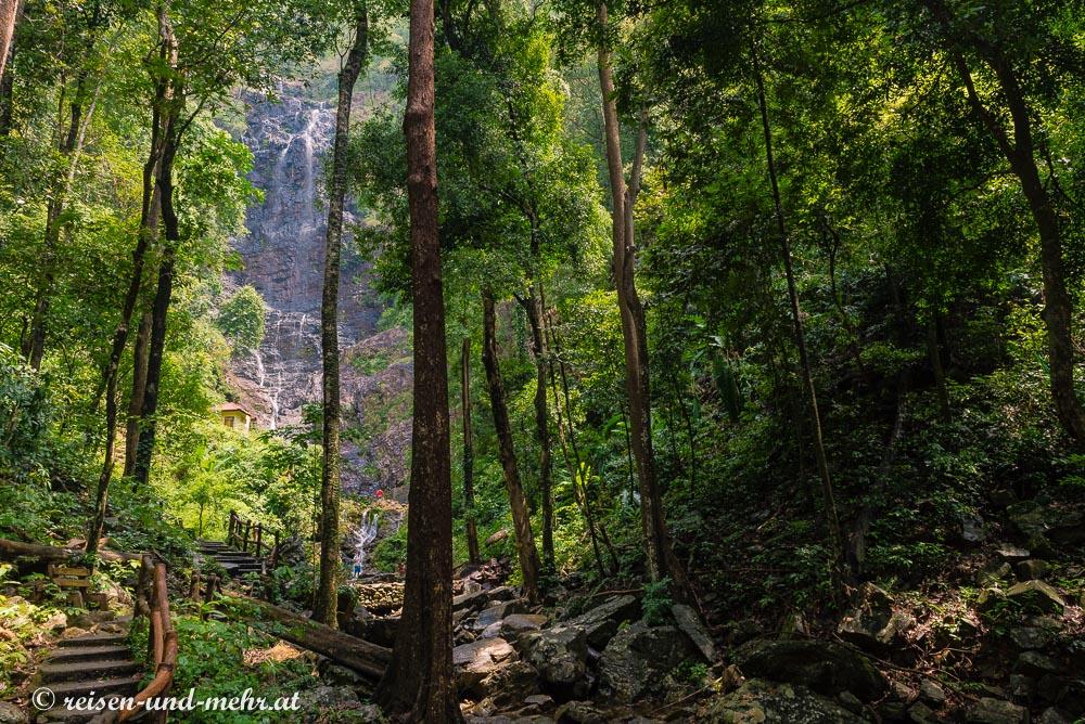 Temurun Wasserfall, Langkawi