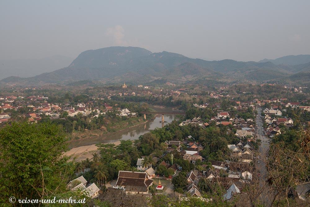Ausblick vom Mount Phou Sie