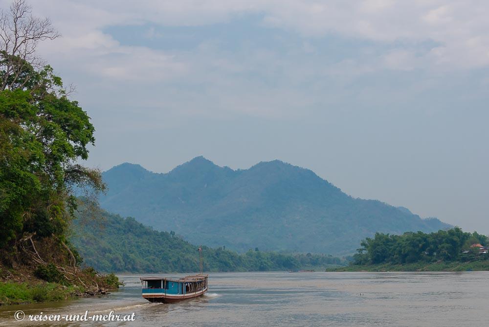 Boot am Mekong