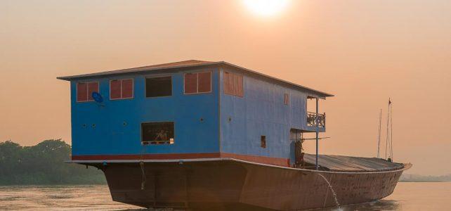 Slowboatfahren am Mekong – entschleunigt Reisen wie vor 100 Jahren