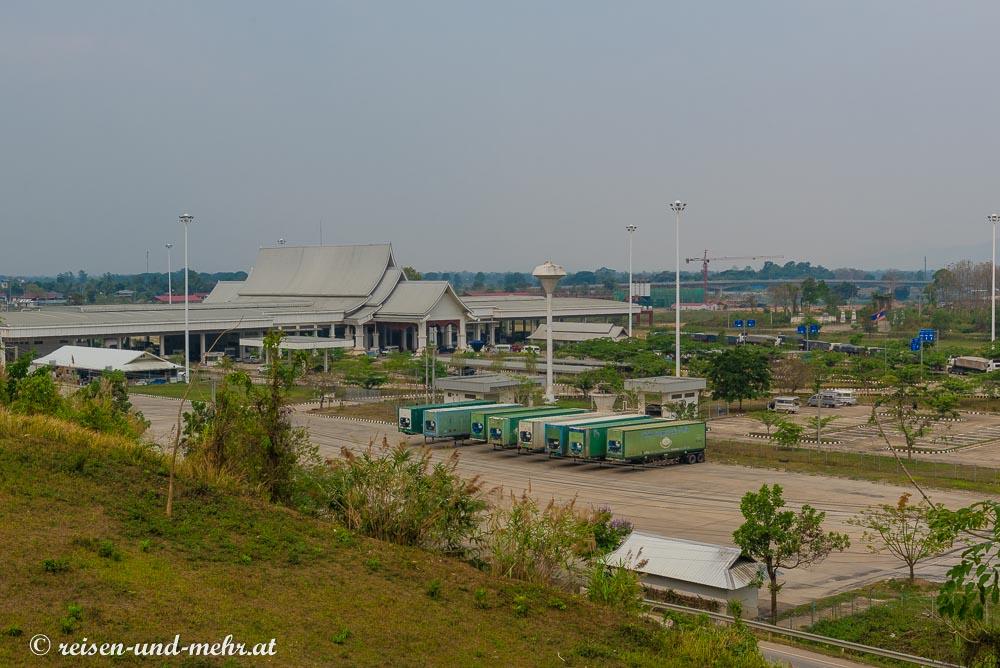 Grenzstation nach Thailand