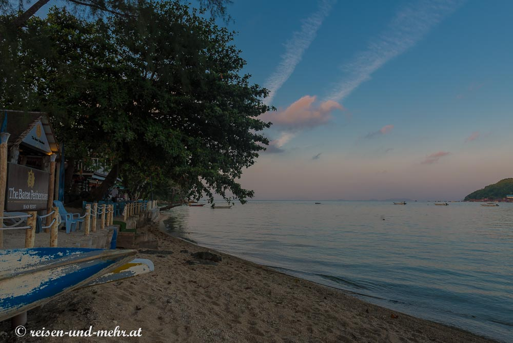 Strand in Besar am Morgen, Perhentian Islands