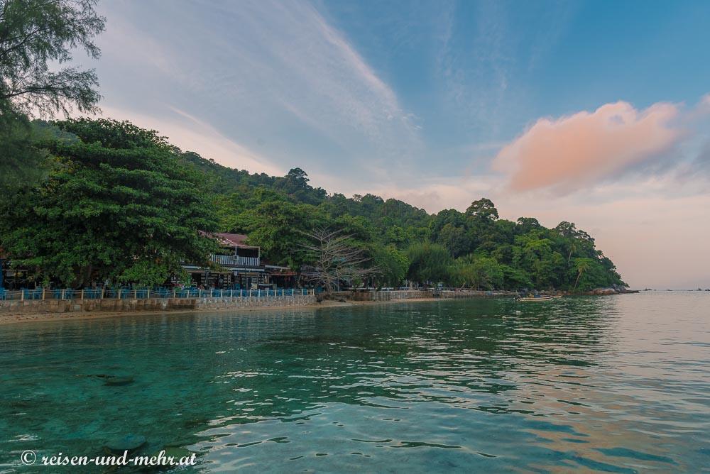 Besar am Morgen, Perhentian Islands