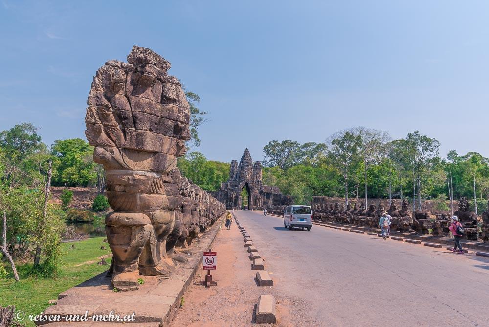 Auf dem Weg zum Bayon, Siem Reap, Kambodscha