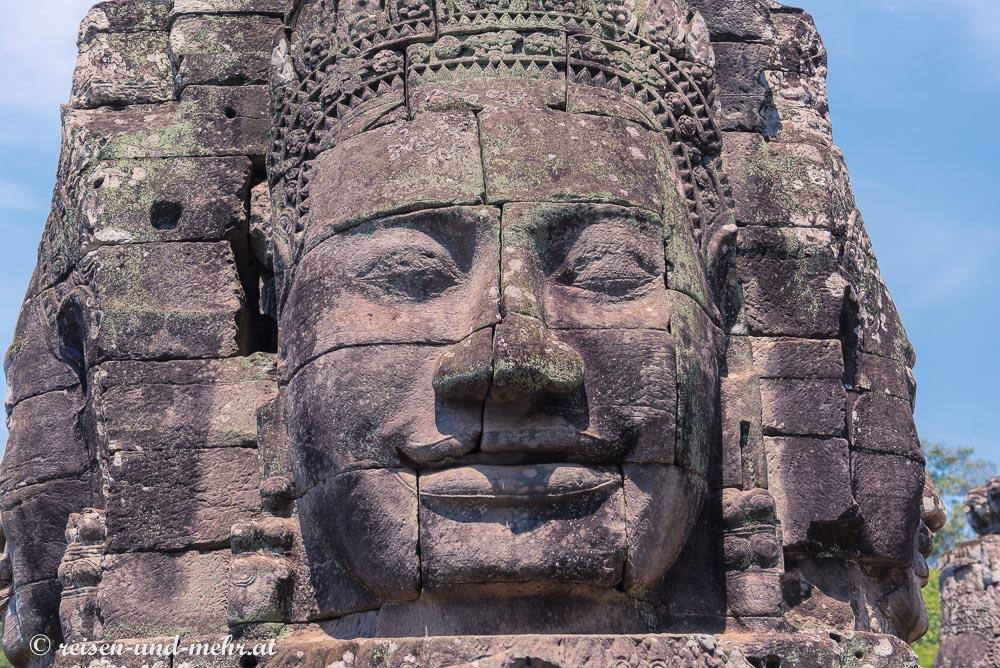 Gesichtsturm im Bayon, Siem Reap, Kambodscha