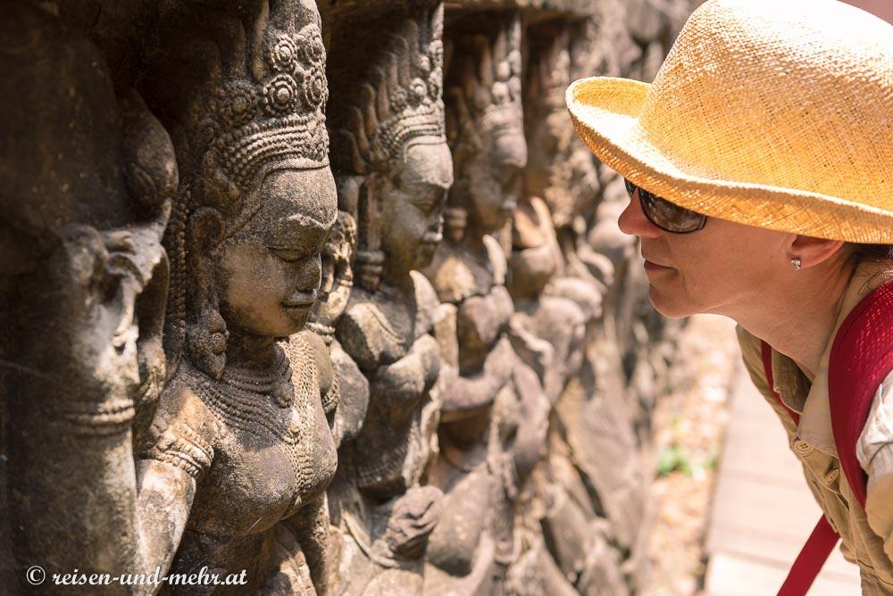 Apsaras – himmlische Tänzerinnen, Siem Reap, Kambodscha