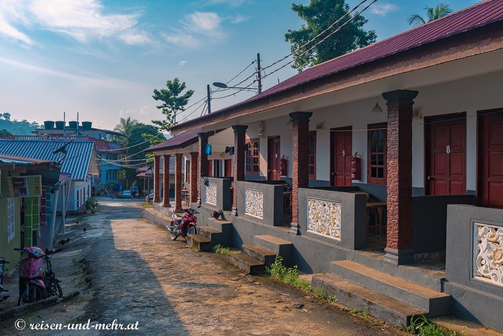 Ortszentrum von Kuala Tahan