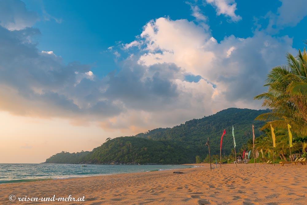 Strandidylle auf Tioman