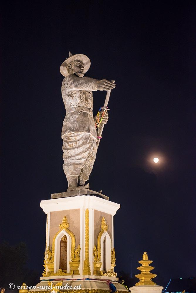 Statue von Chao Anouvong